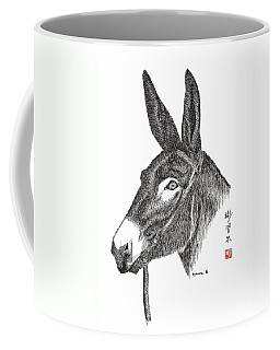 Coffee Mug featuring the painting Andy by Bill Searle