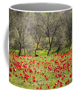 At Ruchama Forest Israel Coffee Mug