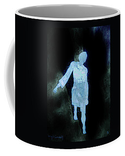 Coffee Mug featuring the photograph Oh That I Were An Angel  by Larry Campbell
