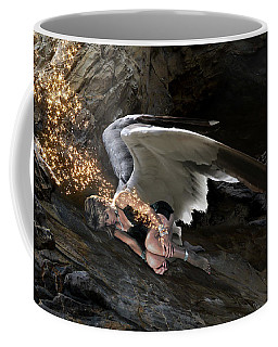 Angel- Give Your Worries To The Father Coffee Mug