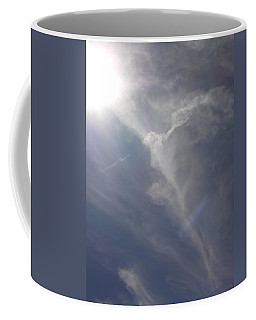 Angel Holding Light Coffee Mug