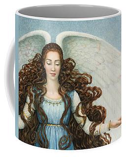 Angel In A Blue Dress Coffee Mug