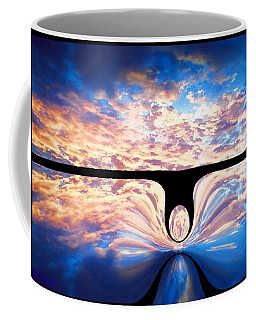 Angel In The Sky Coffee Mug by Alec Drake