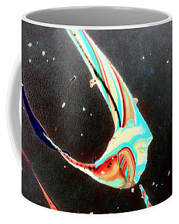 Coffee Mug featuring the painting Angel by Jacqueline McReynolds