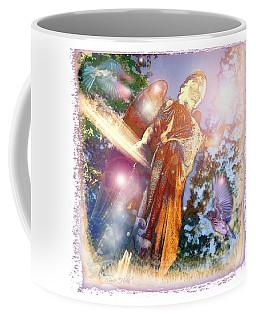 Coffee Mug featuring the photograph Angel Light by Marie Hicks