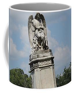 Angel Made From Stone Coffee Mug by Aaron Martens