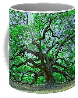 Angel Oak Coffee Mug by Allen Beatty