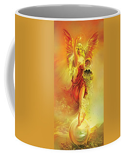 Angel Of Abundance - Fortuna Coffee Mug