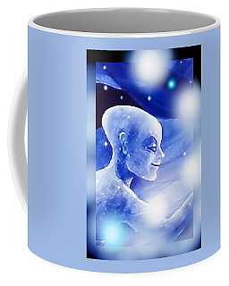 Angel Portrait Coffee Mug by Hartmut Jager