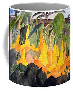 Angel Trumpets Coffee Mug by Sandy McIntire