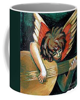 Angel With Lute Coffee Mug