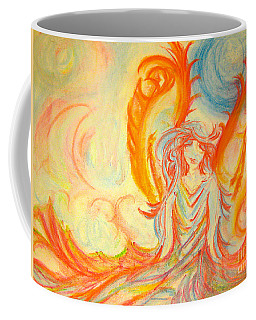 A Rainbow Of Thought Coffee Mug