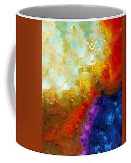 Angels Among Us - Emotive Spiritual Healing Art Coffee Mug