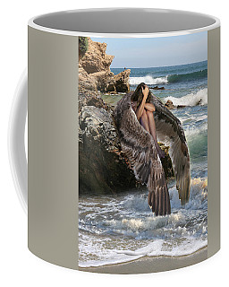 Angels- God Has Sent His Spirit To Comfort You And Heal You Coffee Mug