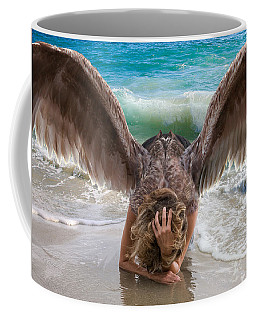 Angels- I Will Not Give Up On You Coffee Mug
