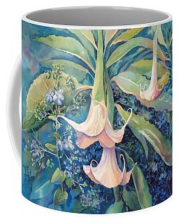 Angels Trumpets II Coffee Mug
