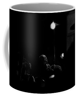 Coffee Mug featuring the photograph Angie Dickinson Resting At Dressing Table Young Billy Young Set Old Tucson Arizona 1968 by David Lee Guss