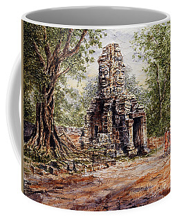 Angkor Temple Gate Coffee Mug