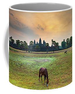 Angkor Wat At Sunrise, Siem Reap Coffee Mug