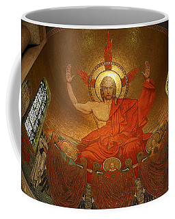 Angry God Mosaic At The Shrine Of The Immaculate Conception In Washington Dc Coffee Mug