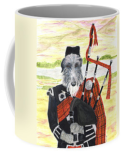 Angus The Piper Coffee Mug