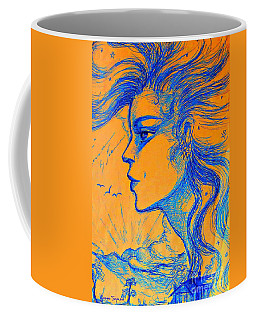 Anima Sunset Coffee Mug