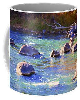 Animas River Fly Fishing Coffee Mug