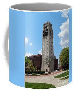 Ann Arbor Michigan Clock Tower Coffee Mug