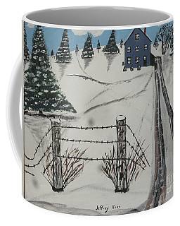 Anna Koss Farm Coffee Mug by Jeffrey Koss