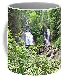 Anna Ruby Falls - Georgia - 1 Coffee Mug