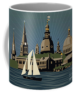 Annapolis Steeples And Cupolas Serenity Coffee Mug