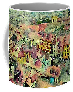 Coffee Mug featuring the photograph Annecy Rain by Susan Maxwell Schmidt