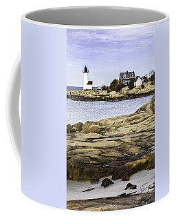 Coffee Mug featuring the photograph Annisquam Light by Betty Denise