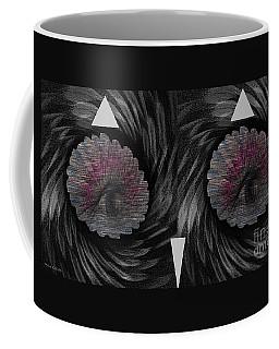 Coffee Mug featuring the mixed media Ann's Owl 1 by Ann Calvo