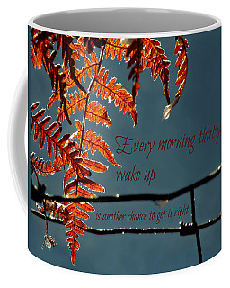 Another Chance Coffee Mug by Micki Findlay