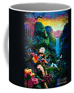 Another Day In Paradise - Digital 2 Coffee Mug