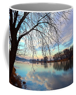 Coffee Mug featuring the photograph Another Morning Reflection by Lynn Hopwood