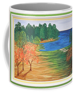 Another Sunday Morning Coffee Mug by Ron Davidson