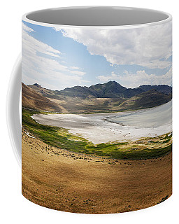 Coffee Mug featuring the photograph Antelope Island by Belinda Greb