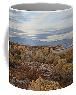 Coffee Mug featuring the photograph Antelope Island - Scenic View by Ely Arsha
