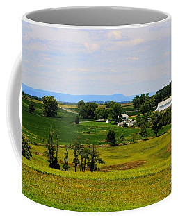 Antietam Battlefield And Mumma Farm Coffee Mug by Patti Whitten