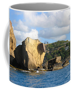 Antigua - Aliens Coffee Mug by HEVi FineArt