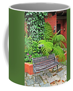 Antigua Bench Coffee Mug