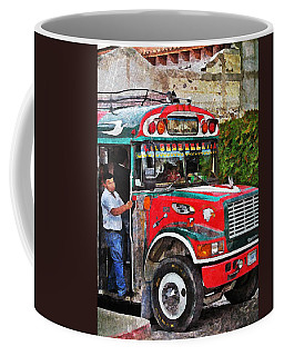 Antigua Bus Stop Coffee Mug
