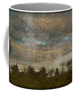 Antique Blue Landscape Coffee Mug