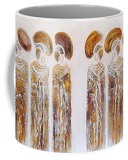 Antique Copper Zulu Ladies - Original Artwork Coffee Mug