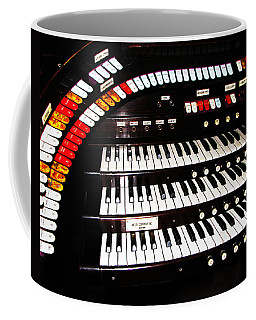 Coffee Mug featuring the photograph Antique Organ by Marcia Socolik