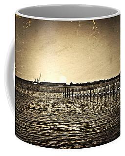 Antique Photo Of Pier  Coffee Mug