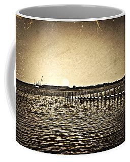 Antique Photo Of Pier  Coffee Mug
