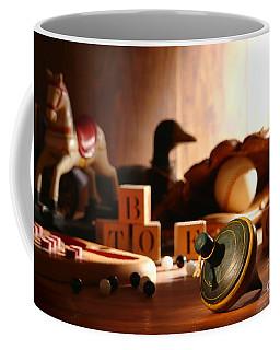 Antique Spinning Top Coffee Mug